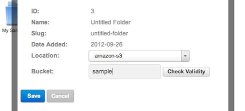 Files Module New Folder