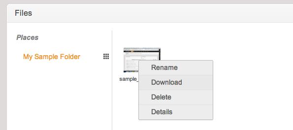 File Context Menu
